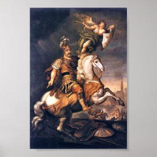 King John III Sobieski,  Battle of Vienna Poster