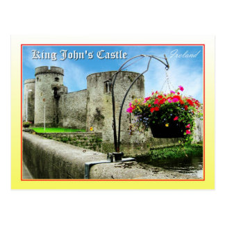King John's Castle, Limerick, Ireland Postcard
