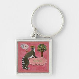 King Julian Mum's Pink Keychain