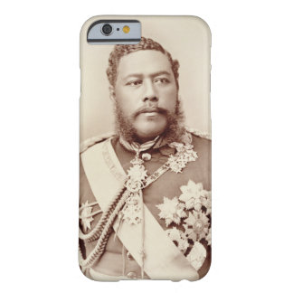 King Kalakaua (1836-91), late c19th (sepia photo) Barely There iPhone 6 Case
