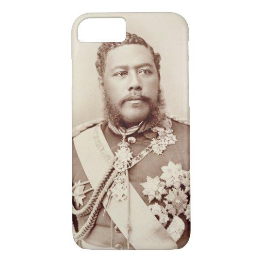 King Kalakaua (1836-91), late c19th (sepia photo) iPhone 8/7 Case