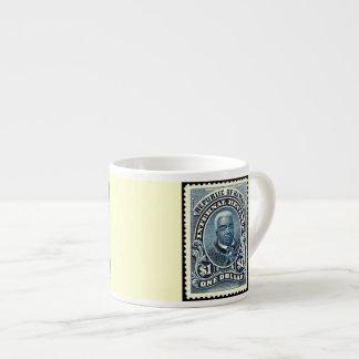 King Kamehameha Republic of Hawaii Stamp Espresso Mug