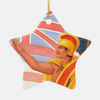 King Kamehameha the Great Christmas Ornament