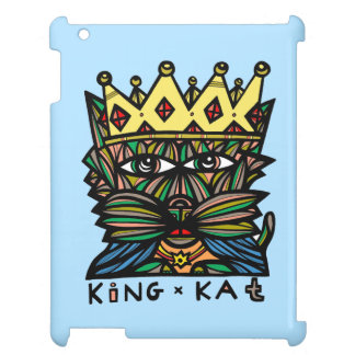 """King Kat"" 631 Art iPad Case"
