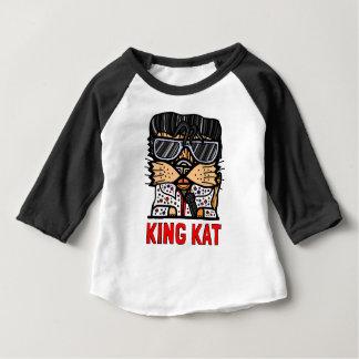 """""""King Kat"""" Baby 3/4 Raglan T-Shirt"""