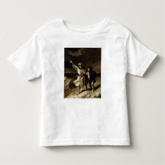 King Lear and the Fool in the Storm Toddler T-Shirt