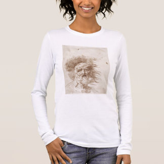 King Lear in the Storm (pen and bistre ink on pape Long Sleeve T-Shirt