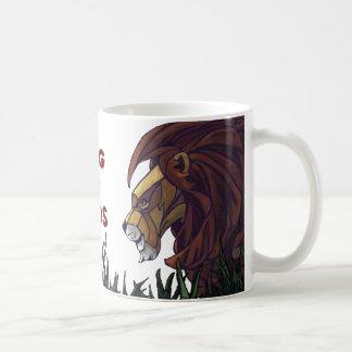 King Lion and Cubs, King of Dads Mug