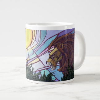 King Lion and Cubs Jumbo Mug