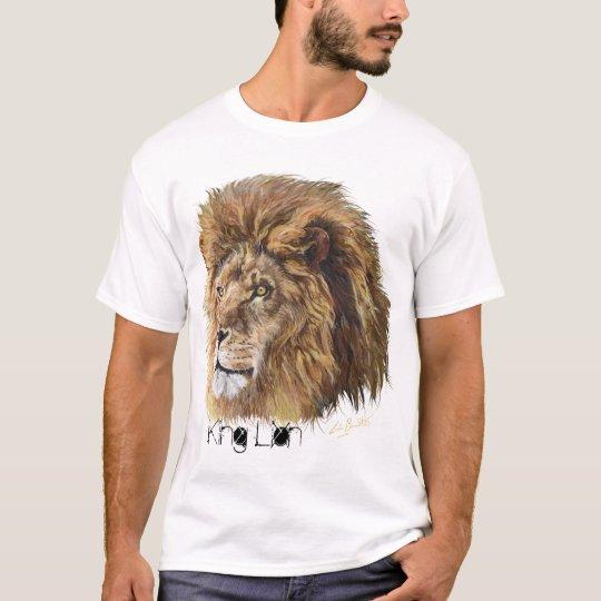 King Lion (Heart) T-Shirt, Man's T-Shirt