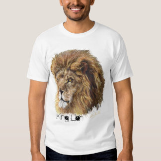 King Lion (Heart) T-Shirt, Man's Tshirt