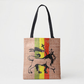 King lion tote bag