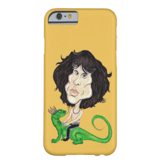King Lizard Rockstar Caricature Drawing Phone Case