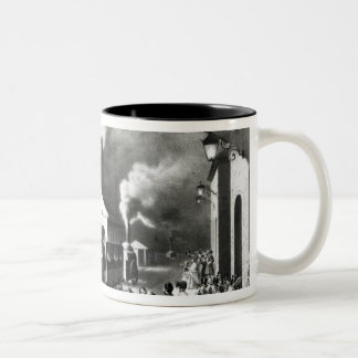 King Louis-Philippe of France departing Two-Tone Coffee Mug