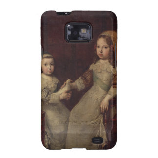 King Louis XIV (1638-1715) as a child with Philipp Galaxy S2 Cases