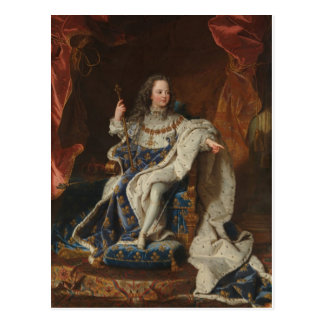 King Louis XV as a Child by Hyacinthe Rigaud Postcard