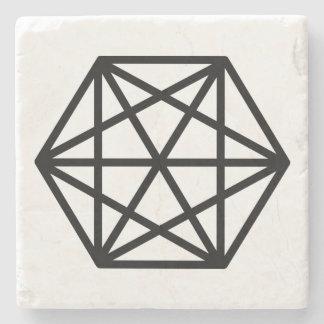 King (+) / Marble Stone Coaster