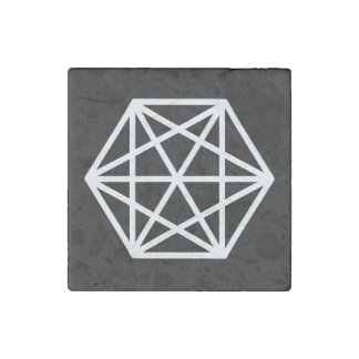 King (-) / Marble Stone Magnets, Individual Stone Magnet