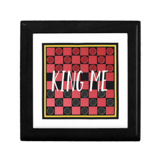 King Me Small Square Gift Box