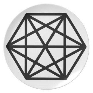 King (+) / Melamine Plate