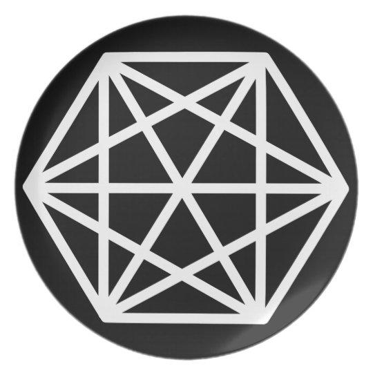 King (-) / Melamine Plate