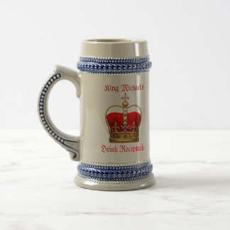 King Michael Beer Stein