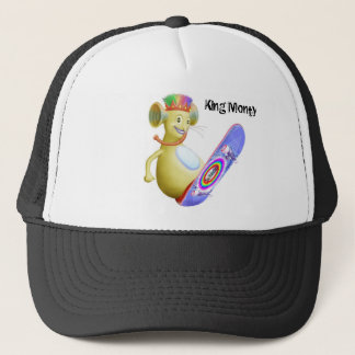 King Monty on Skate Board Trucker Hat