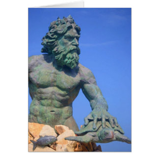 King Neptune by Shirley Taylor Greeting Card