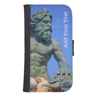 King Neptune by Shirley Taylor Samsung S4 Wallet Case