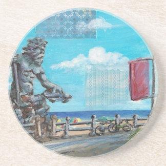 King Neptune Beverage Coaster