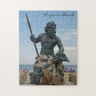 King Neptune in Virginia Beach Jigsaw Puzzle
