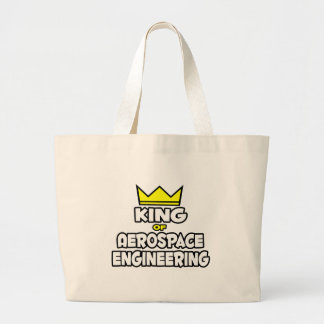 King of Aerospace Engineering Canvas Bags