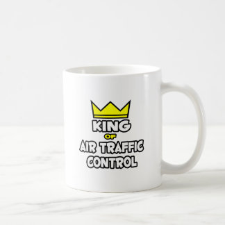 King of Air Traffic Control Basic White Mug