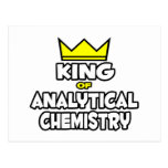 King of Analytical Chemistry Postcards