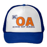 King of Arms 2CW Design Trucker Hat