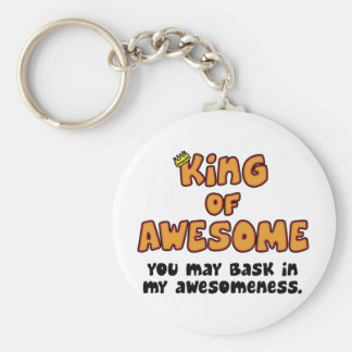 King of Awesome Key Chain