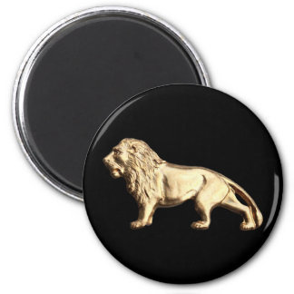 King of Beasts 6 Cm Round Magnet