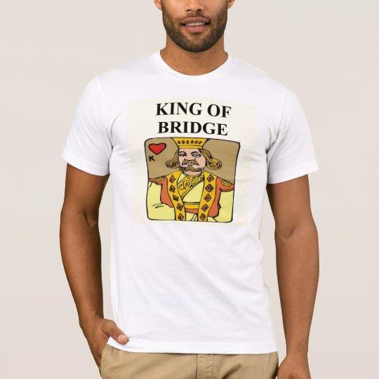 king of bridge duplicate game player T-Shirt