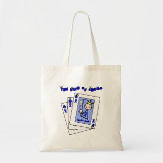 King of Chemo - Colon Cancer Budget Tote Bag