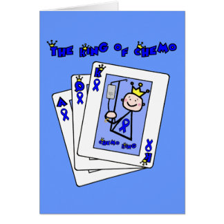 King of Chemo - Colon Cancer Card