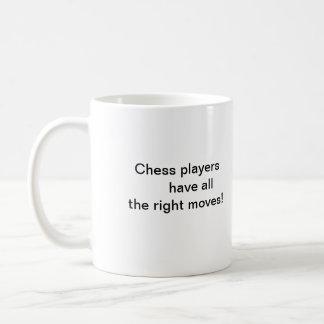 King of Chess Basic White Mug
