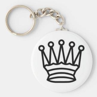 King of Chess Key Ring