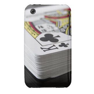 King of Clubs Case-Mate iPhone 3 Case