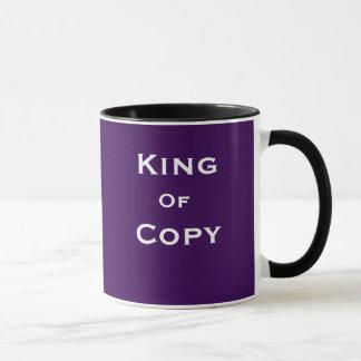 King of Copy Journalist Editor Funny Joke Name Mug