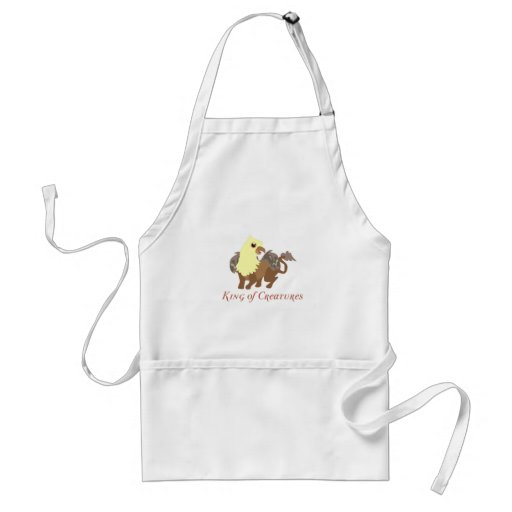 King Of Creatures Aprons