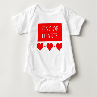 King of Hearts Baby Bodysuit