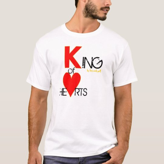 KING OF HEARTS by live.rock.yell! T-Shirt
