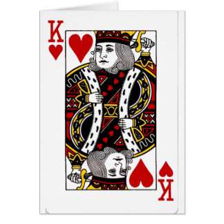 King of Hearts Collection Card