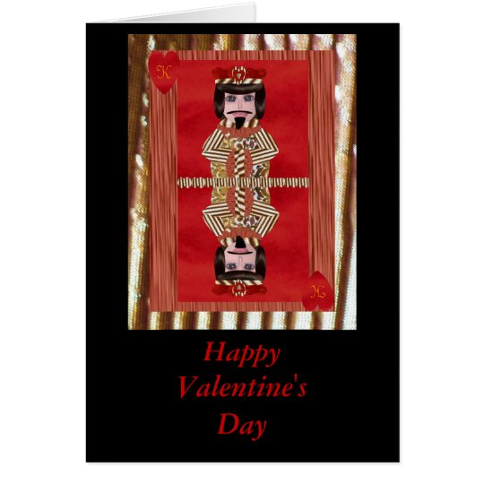 King of Hearts, Happy Valentine's Day Card