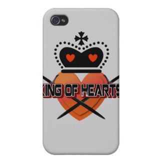 King of Hearts iPhone 4/4S Case